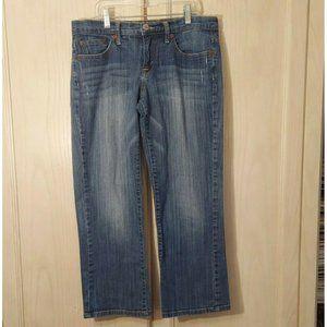 Lucky Brand Women's Classic Rider Crop Jeans, 6/28